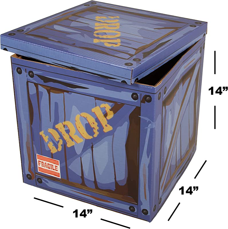 Large Loot Drop Box Gamer Birthday Party Supplies Goes With Merch Chug Jugs Pickaxes Decor Gift Accessory 14 X 14 X 14