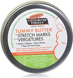 Palmer's Cocoa Butter Formula Tummy Butter for stretch marks, 4.4 oz, Packaging may vary