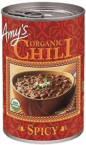 Amy's Organic Chili, Spicy, 14.7 oz
