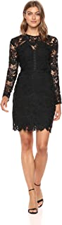 Women's Lace Dress with Studding Detail