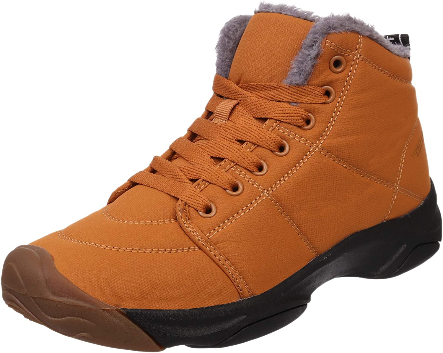 BRONAX Women Fur Lined Ankle Winter Snow Boots