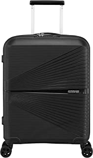 American Tourister 128186 Airconic Hardside Spinner Suitcase, 55 Centimeter, Onyx Black