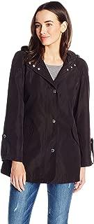 Anne Klein Women's Hooded Raincoat