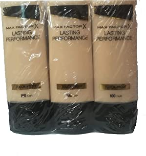A set of 3 Max Factor Foundation Lasting 100 Fair 35ml