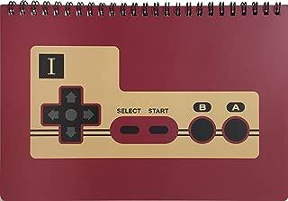 ファミリーコンピュータ雑貨シリーズ リングノート Bコントローラー
