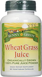 Sunny Green Wheat Grass Juice, 90 Count
