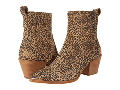 Dolce Vita Serna (Tan/Black Dusted Leopard Suede) Women
