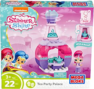 Mega Bloks Shimmer and Shine Genie Palace Bottle Shimmer Tea Party Building Set