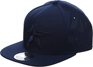 the latest d2c93 e5f90 New Era Hommes 9FIFTY Snapback Metallic Mark Dallas Cowboys Nfl Casquette  Bleu Foncé Taille Unique Taille