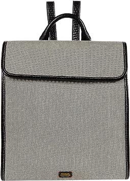 Trey Salt and Pepper Canvas Backpack