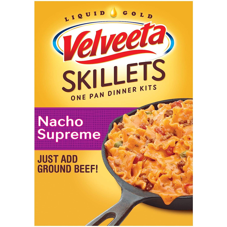 Velveeta Skillets Nacho Supreme One Pan Dinner Kit with Pasta (C