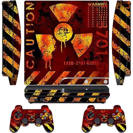 Firestorm PS3-Original-Designer skin for FAT Playstation 3 System PS3 Controller skin included