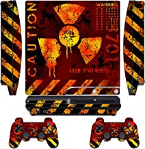 Designer Skin for Sony PlayStation PS3 SLIM System & Remote Controllers -MeltDown