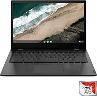 "Lenovo Chromebook S345, 14.0"" FHD (1920 X 1080) Display, AMD A6-9220C Processor, 4GB DDR4 RAM, 32GB SSD, AMD Radeon R5 Graphics, Chrome OS, Up to 10 Hours of Battery Life, 81WX0001US, Platinum Grey"