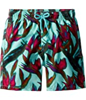 Vilebrequin Kids - Paradise 3D Swim Trunk (Big Kids)