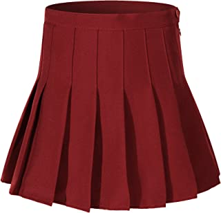 66ed067fcd Beautifulfashionlife Girl`s Short Pleated School Dresses for Teen Girls  Tennis Scooters Skirts