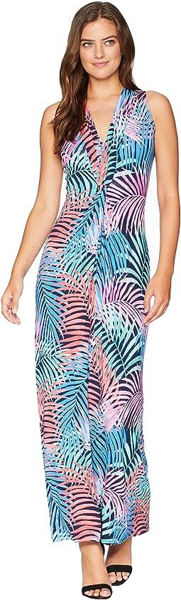 Tulum Trance Twist Maxi Dress