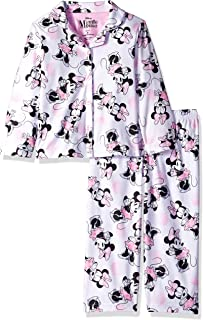 Disney Minnie Mouse 1928 Girls Two Piece Pajama Set