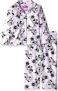 Girls' Minnie Mouse 2-piece Pajama Coat Set