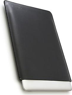 V.M MacBook 12 スリーブ ケース レザー 11 12 13 15 16 軽 薄 皮 革 マックブック 12.0 インチ PCスリーブ 純正 マック スリップイン ノート PC カバー ブラック Mac case 12inch 黒