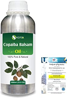Copaiba Balsam 100% Natural Pure Essential Oil 1000ml/33.8fl.oz.