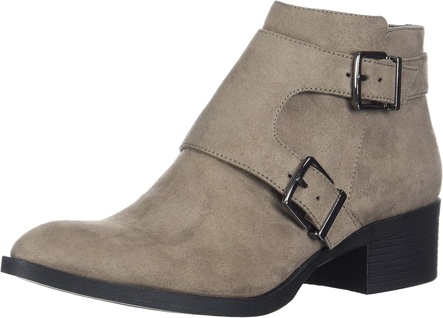 Kenneth Cole REACTION Womens Re-Buckle Moto Ankle Boot Ankle Boot