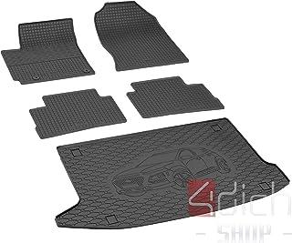 OMAC GmbH Kofferraumwanne Antirutschmatte Gummi Allwetter schwarz fahrzeugspezifisch