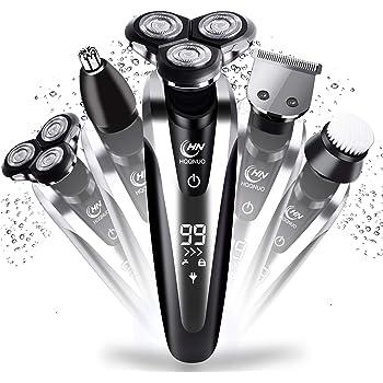 Cucuba® 3 en 1 afeitadora electrica hombre impermeable para el ...