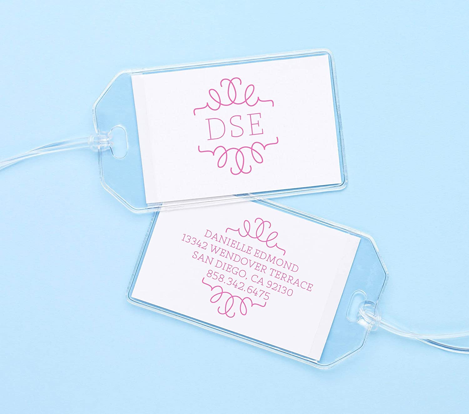 Personalized Monogrammed Sales of SALE items from new works ID Tags Kids At the price Custom for Backpacks