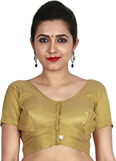 9c45f4ea26bb4a Amazon.in: Golds - Blouses / Ethnic Wear: Clothing & Accessories