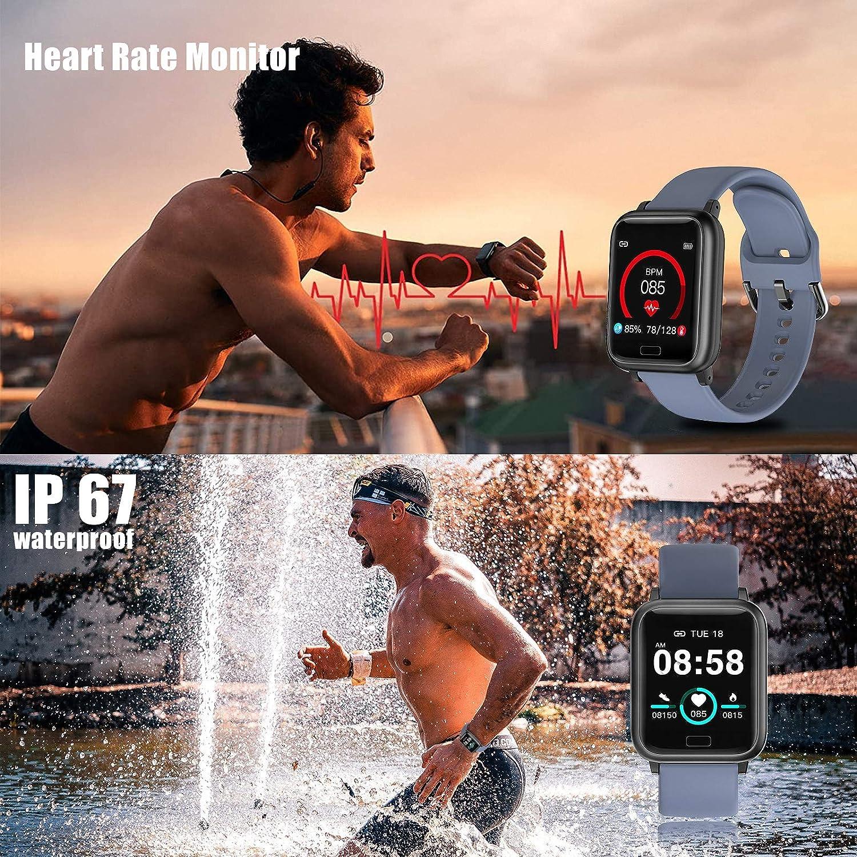 miniature 17 - Smart Watch Fitness Tracker BP fréquence cardiaque étape Calorie Sommeil Moniteur Étanche