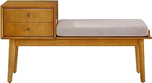 Crosley Furniture  Landon Entryway Bench - Acorn