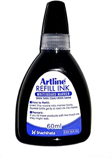 Artline Refill Ink (ESK-50A, BLACK) for Artline 5109A Big Nib Markers, Plus 500A, 509A, 550A, and 5100A Whiteboard Markers