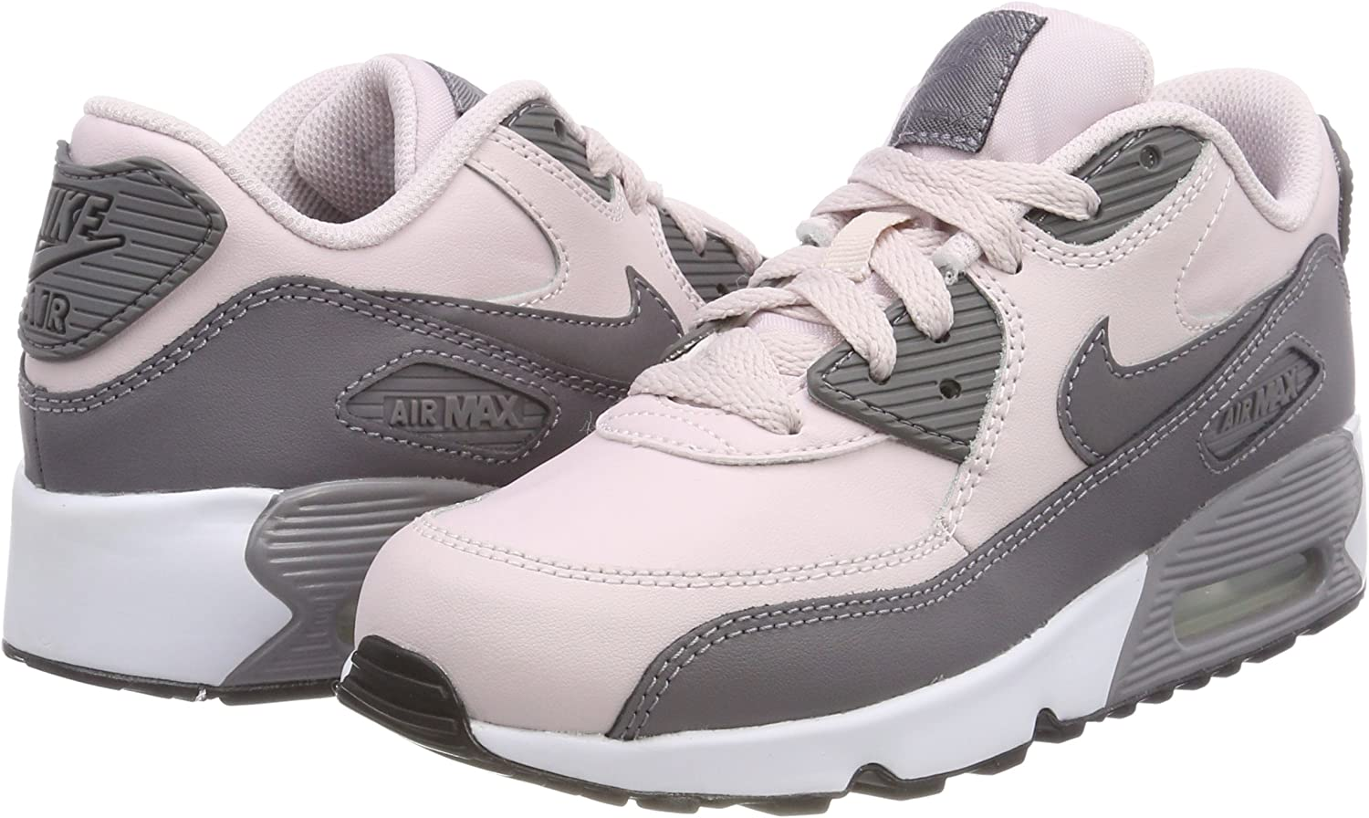Nike Air Max 90 Leather (PS), Sneakers Basses Fille, Rose (Barely ...