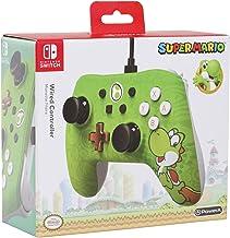 Nc Games Pwa-a-01799 Controle Nintendo Switch Com Fio Iconic Yoshi Powera - Nintendo_switch