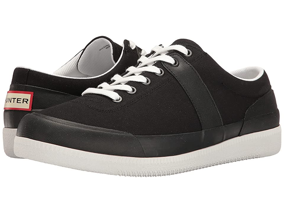 Hunter Original Sneaker Lo Canvas (Black/White) Men