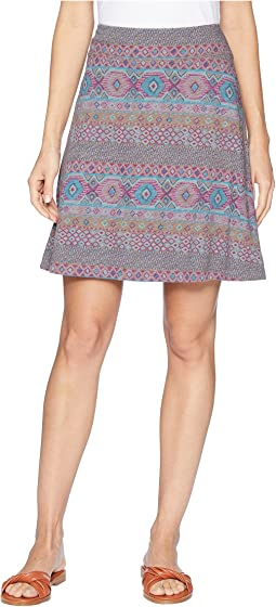Stamped Geo Marina Skirt