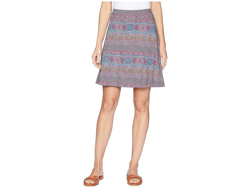 Fresh Produce Stamped Geo Marina Skirt (Portobello) Women
