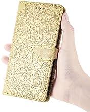 TYWZ Portemonnee Case voor iPhone 11 Pro Max, Card Slot Bekijken Stand Shockproof TPU Inner Case PU Lederen Magnetische Be...