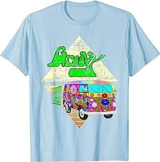 Hippie Vintage 1960s Distressed Groovy Road Trip T shirt
