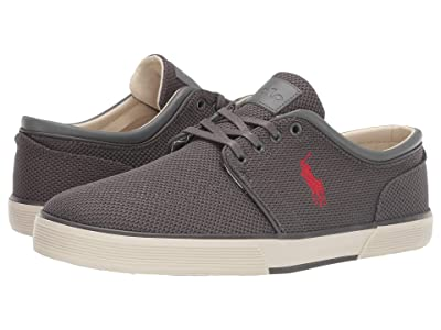 Polo Ralph Lauren Faxon Low (Dark Grey Knitted Mesh) Men