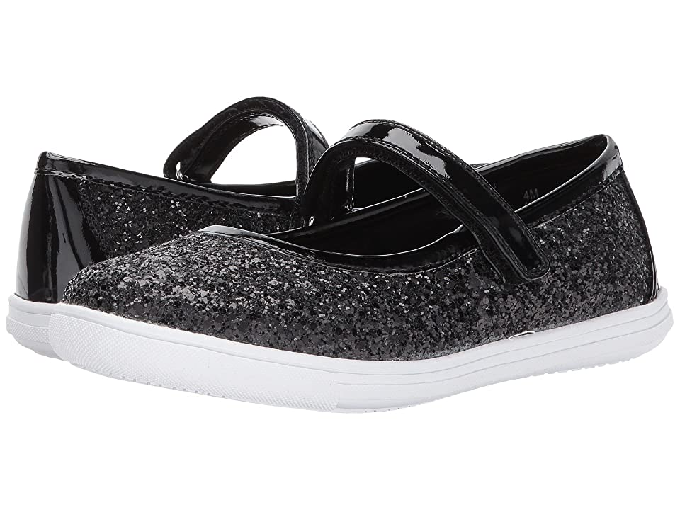 Rachel Kids Aries (Little Kid/Big Kid) (Black Glitter) Girl