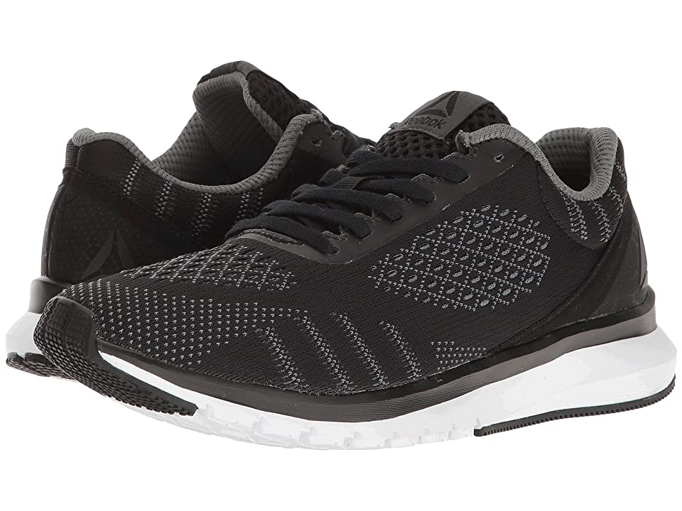 Reebok Print Run Smooth ULTK (Black/Asteroid Dust/White) Women