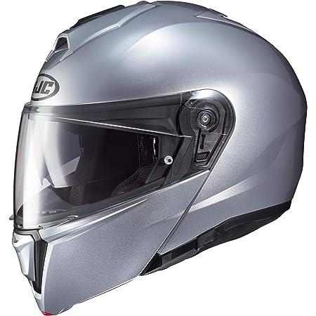 HJC i90 Modular Motorcycle Helmet Silver Large