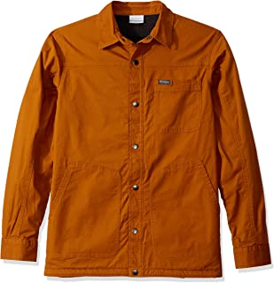 Columbia Mens 1866671 Rugged RidgeTM Shirt Jacket Short Sleeve Button Down Shirt
