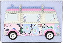 California Dreaming Surf Van Card Holder