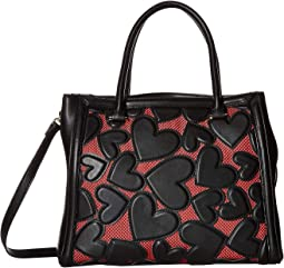 Heart Cut Out Satchel