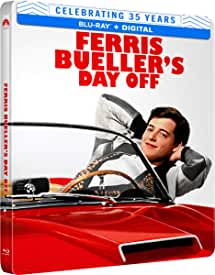 FERRIS BUELLER'S DAY OFF Limited Edition 35th Anniversary Blu-ray Steelbook Arrives June 8 from Paramount