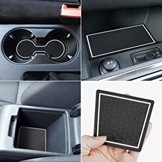 Protector Mats for Volkswagen Jetta Accessories 2013-2018 Custom Fit Door Compartment Liners Cup Holder Console Liners Ant...
