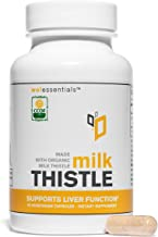 Certified Organic Milk Thistle by WEL Essentials   60 Capsules